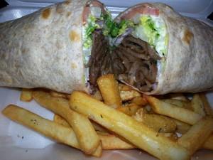 Greek Gyro Wrap